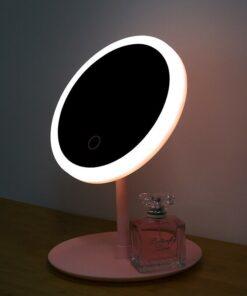Miroir de maquillage éclairé LED