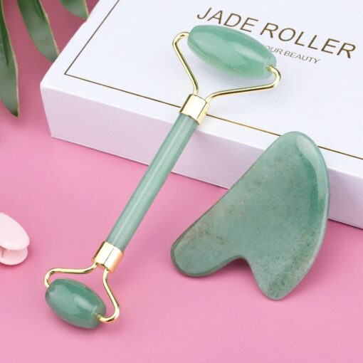 Rouleau de Jade Vert